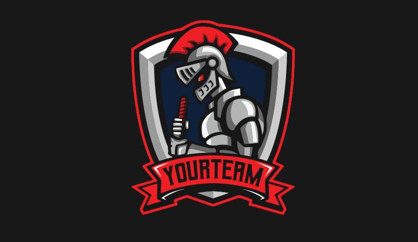 mascot logo design illustration