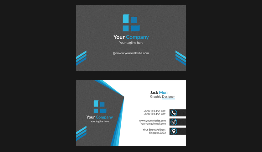 design simple business card for you