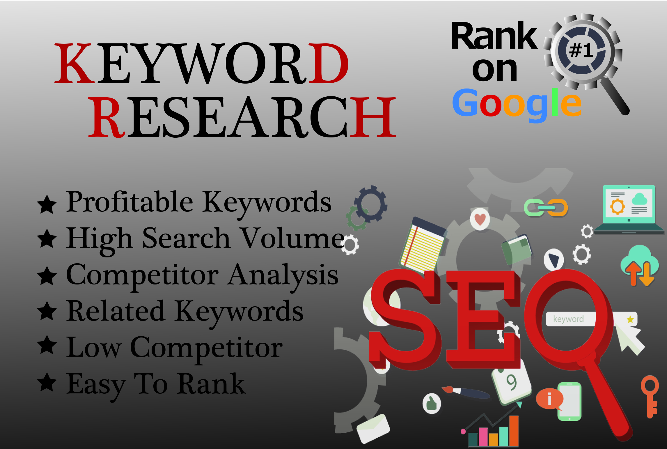 I will build a perfect monthly SEO for your website