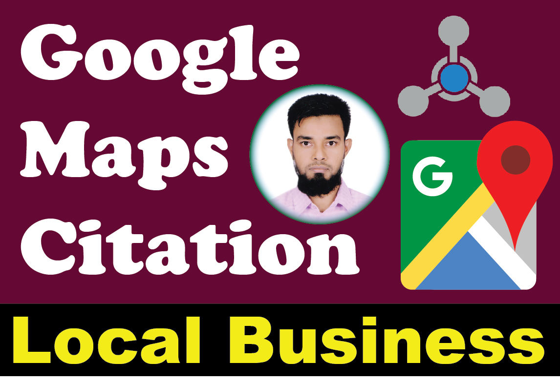 I will do 50 google point map develop for local SEO