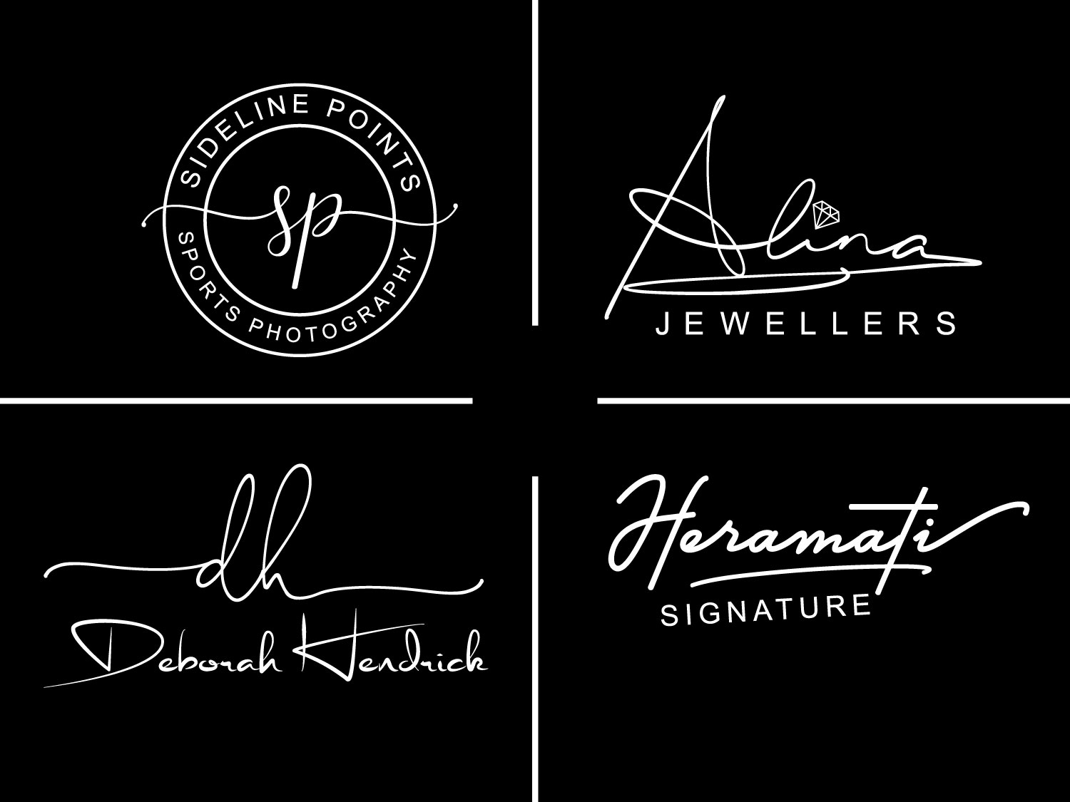 I will Do Luxury Signature logo For fashion Boutique Cosmetics