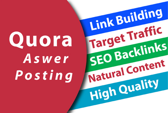 Provide Your Website 60 High Quality Quora answer