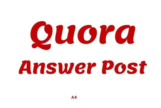 Promote website Quora 12 Backlink