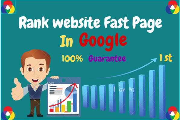 Rank Your Website Google 1st Page Guarantee