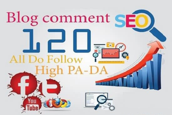 I will build 120 high quality dofollow blog comment backlinks
