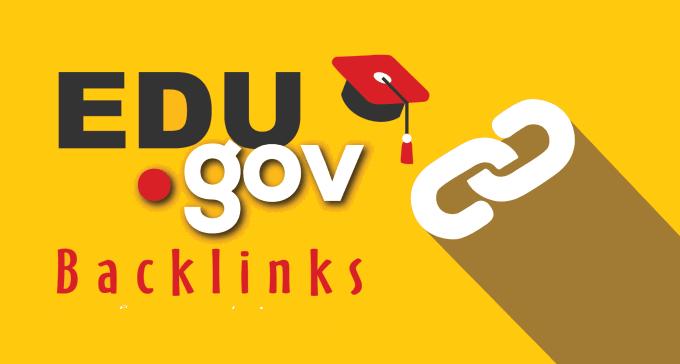 Powerful 20 edu - gov Authority High da Backlinks, Link building