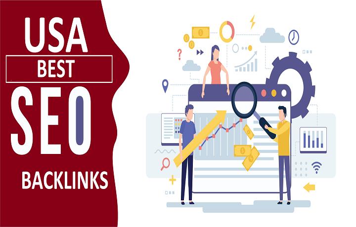 Premium USA 70 High DA Authority SEO Backlinks