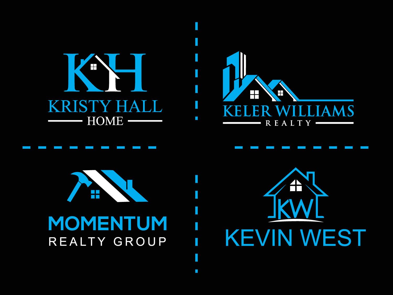 I will Do Luxury Real Estate Property Home Logo Design