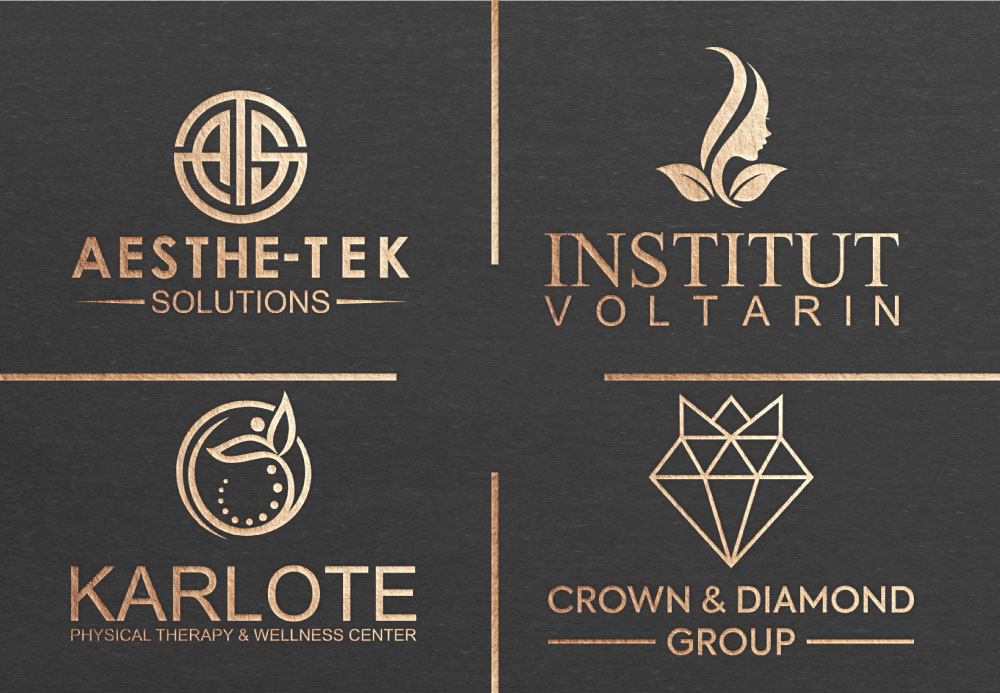 Luxury modern minimalist and professional logo design