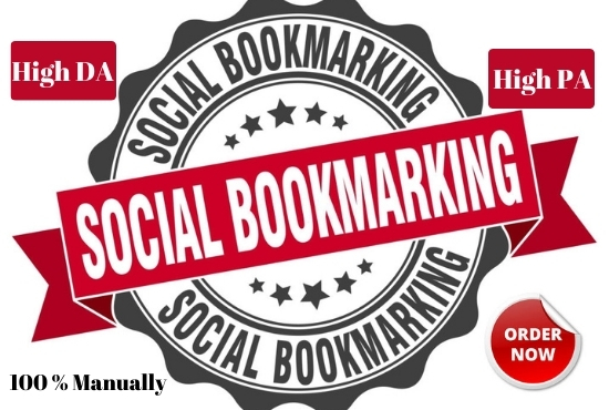 Provide 20 social bookmarking submission on high authority websites