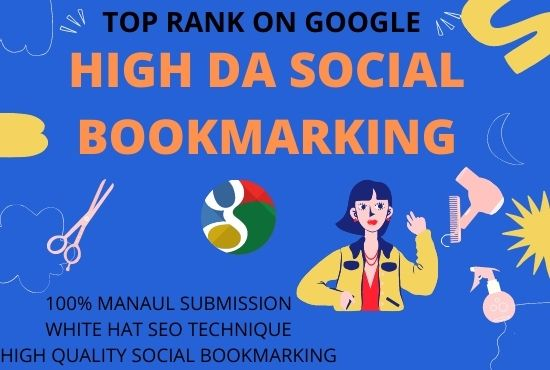 Provide 30 social bookmarking submission on high authority websites