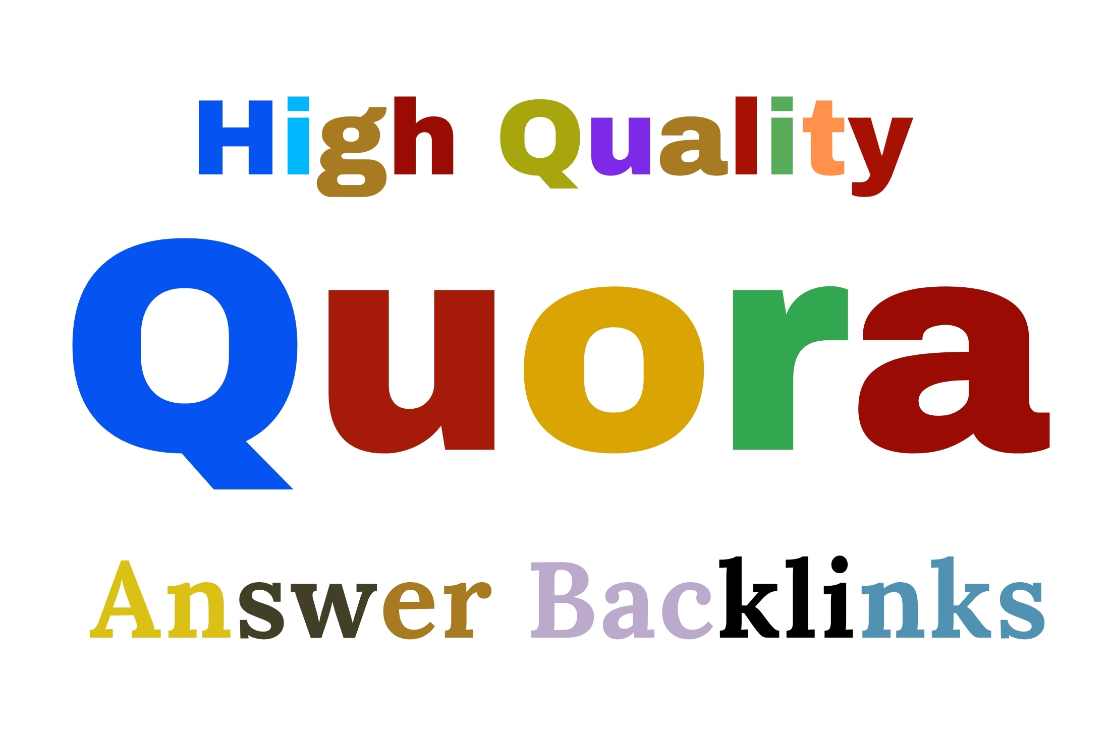 I will write 5 unique Quora Answer within 24 hours for your Website