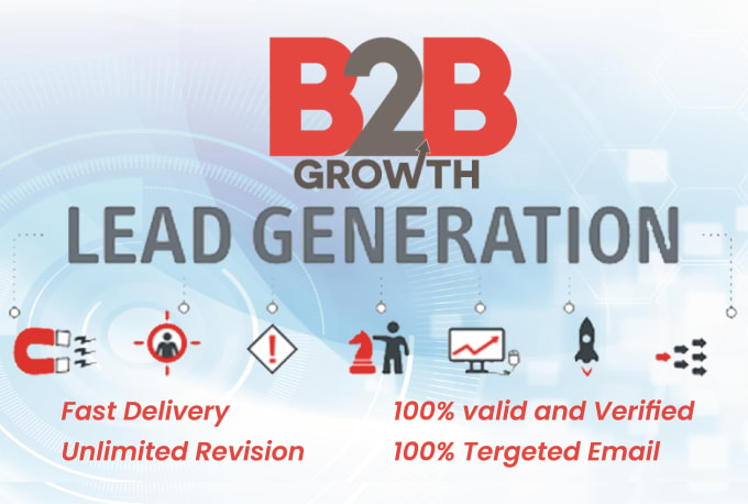 I will do b2b lead generation,  targeted leads and web research