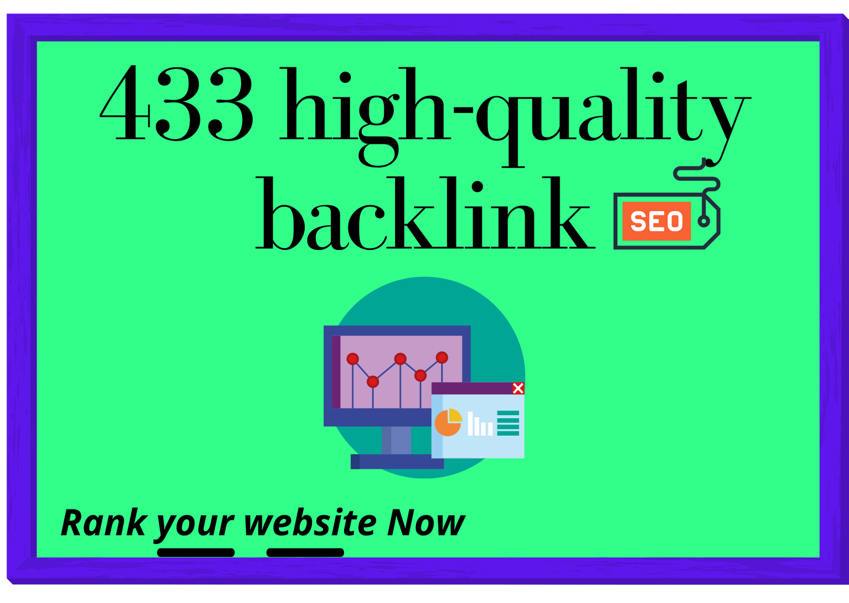 I will do monthly off-page seo with 430+ High-quality backlink for rank your website