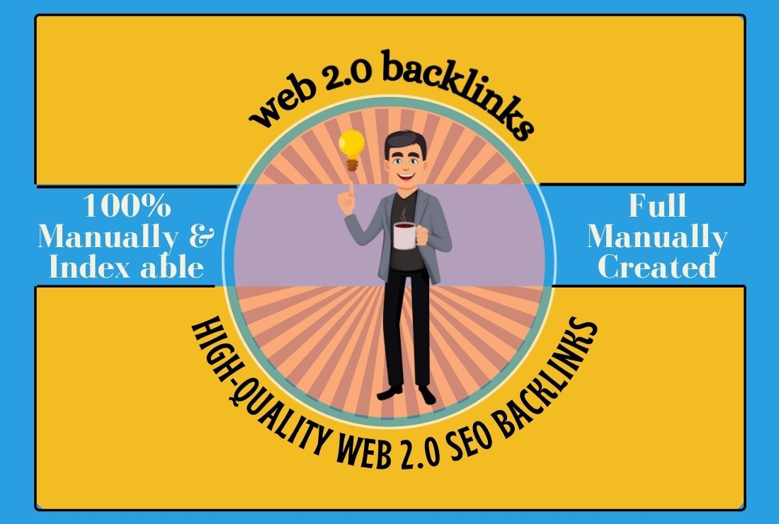 I will create Manually 50 High Authority web 2 0 backlinks