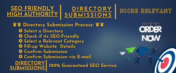 HQ Niche relevant 30+ Directory submission Backlink to Reach Targeted Traffic