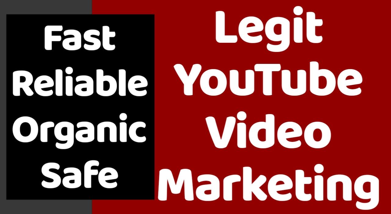 I Provide Rank Push YouTube Video Promotion
