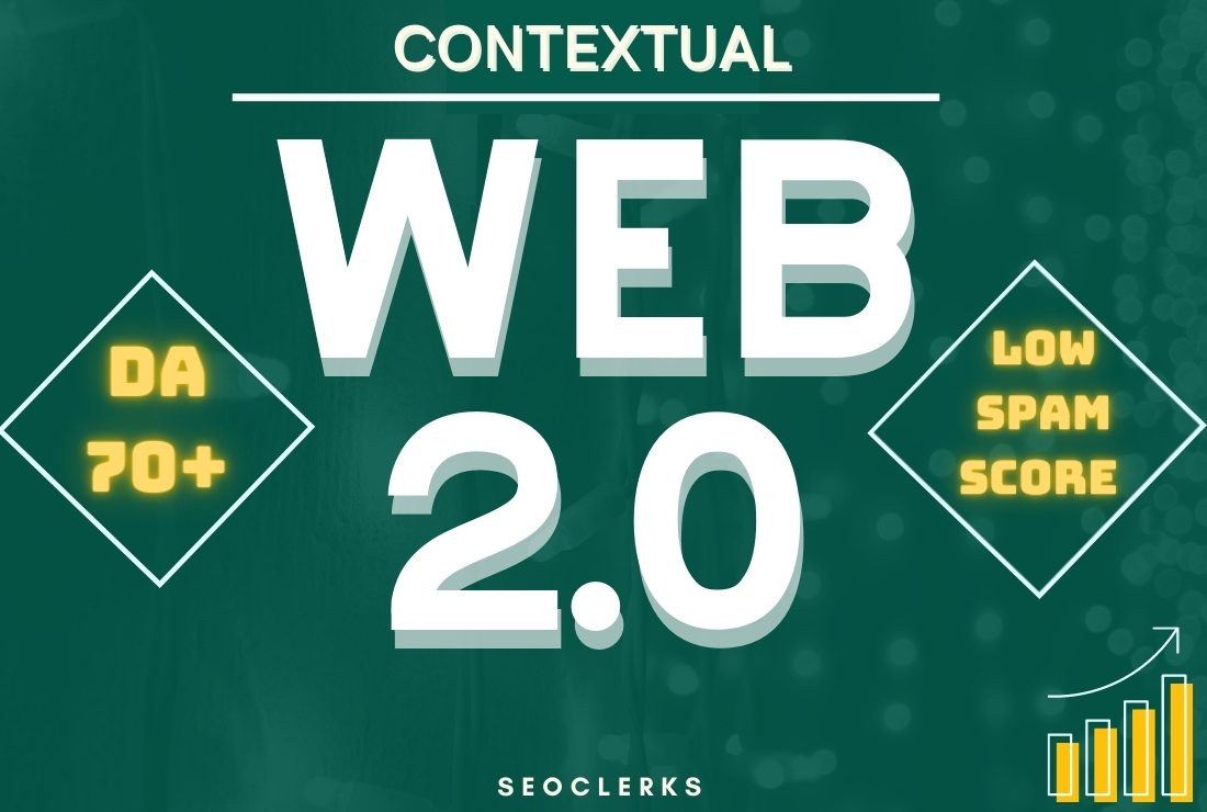 50 Handmade Contextual Web 2.0 Blog with DoFollow Backlink Including Login Details