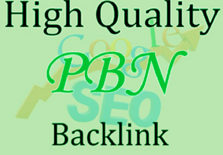 Build 50 High DA PA PBN Backlinks High Quality Permanent Backlinks