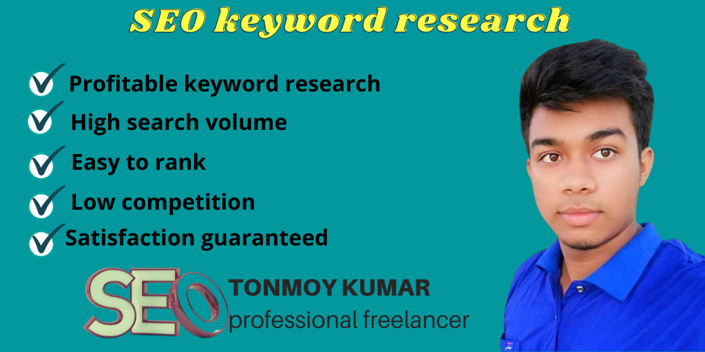 I will do profitable SEO keyword research and competitor analysis.