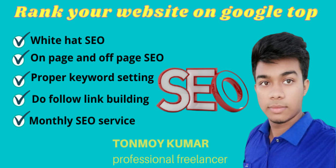 I will do complete seo services to rank your website on google top