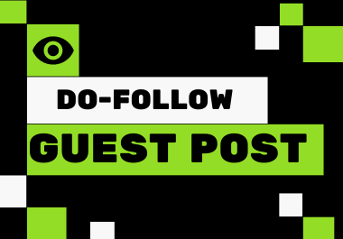 I will do guest post, high da guest post