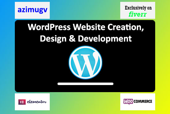 I will develop,  update and customize any wordpress website