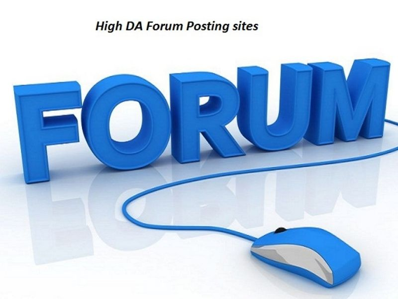 I Will Provide Manually 25 Forum Posting SEO Backlinks With High DA