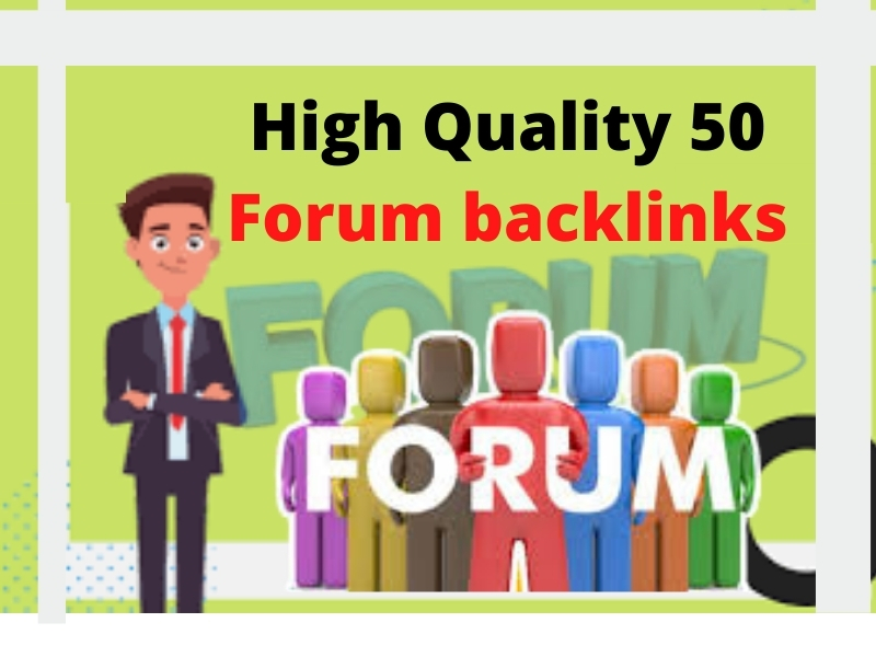 I will do Forum Backlinks in niche threads and forums according to your site niche