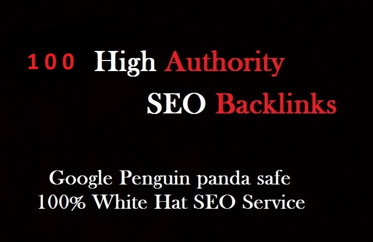 I will create 100 high authority seo backlinks from top brands.