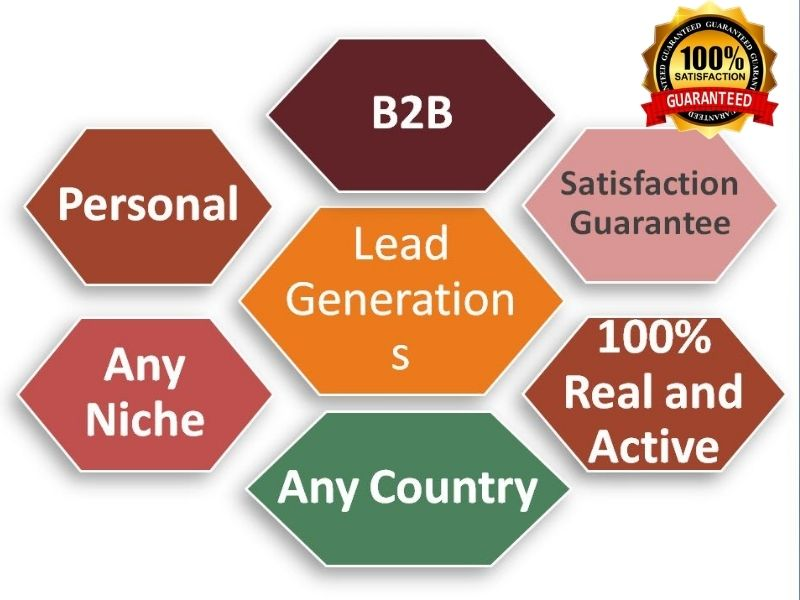 I will find 100 active leads for your targeted company