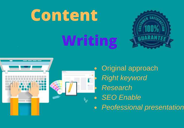 I will write 1000 words unique and SEO friendly Content