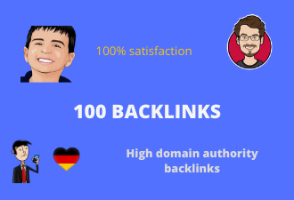 I will create 100 high authority follow profile backlink