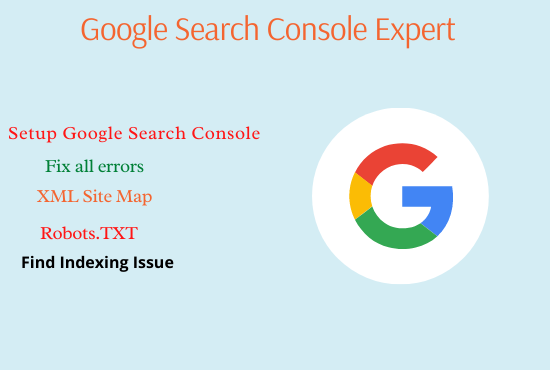 I will fix index coverage error and issue in google search console