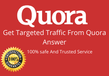 Boost your website in 10 Quora Answers with contextual link