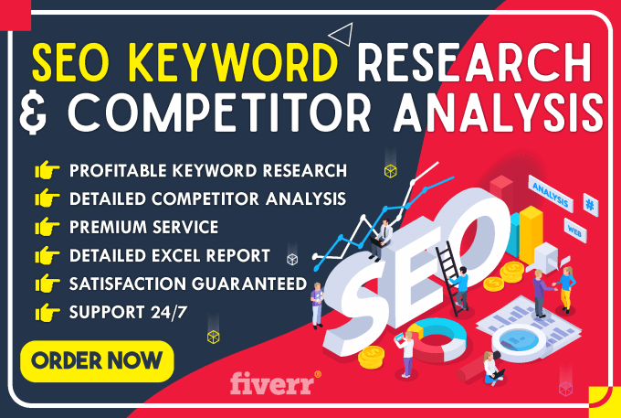 I can provide Profitable Keyword Research and Competitor Analysis