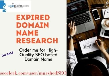 I will provide SEO based unique Expired Domain Name to Rank your business