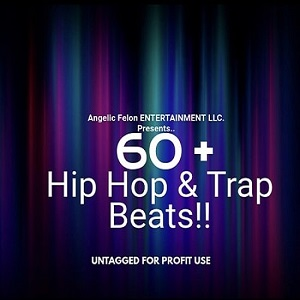 I will send you 60 original royalty free hip hop rap and trap beats