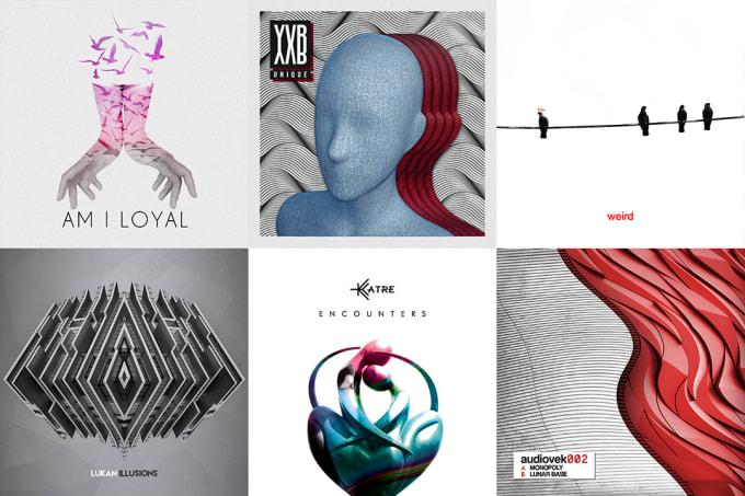 I will design a cd album cover