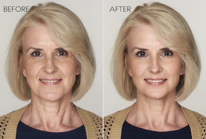 I will do 2 image retouching , portrait, skin and images editing