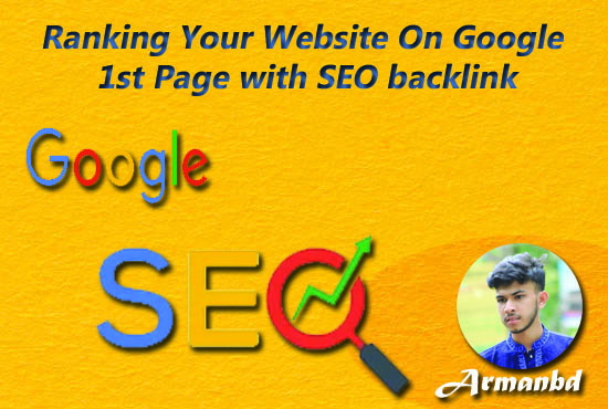 I will do Ranking Your Website On Google 1st Page with SEO backlink