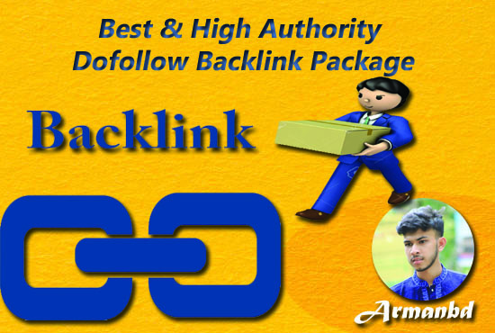 I Will Do Best & High Authority Dofollow Backlink Package