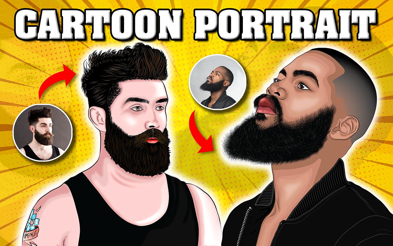 I will draw your amazing cartoon portrait in 24 hours