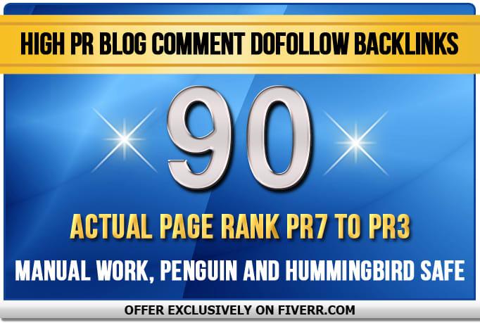I will make 70 mix backlinks on high da sites