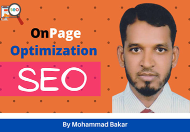 I will do on page seo & technical on page optimization of website.