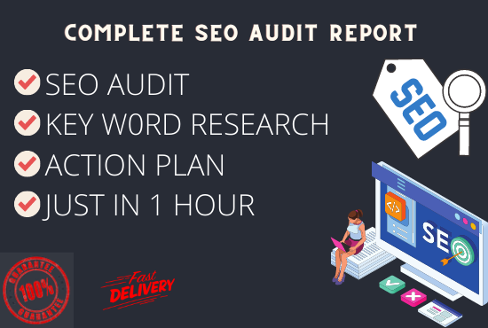 I will audit your site and create detailed SEO audit report