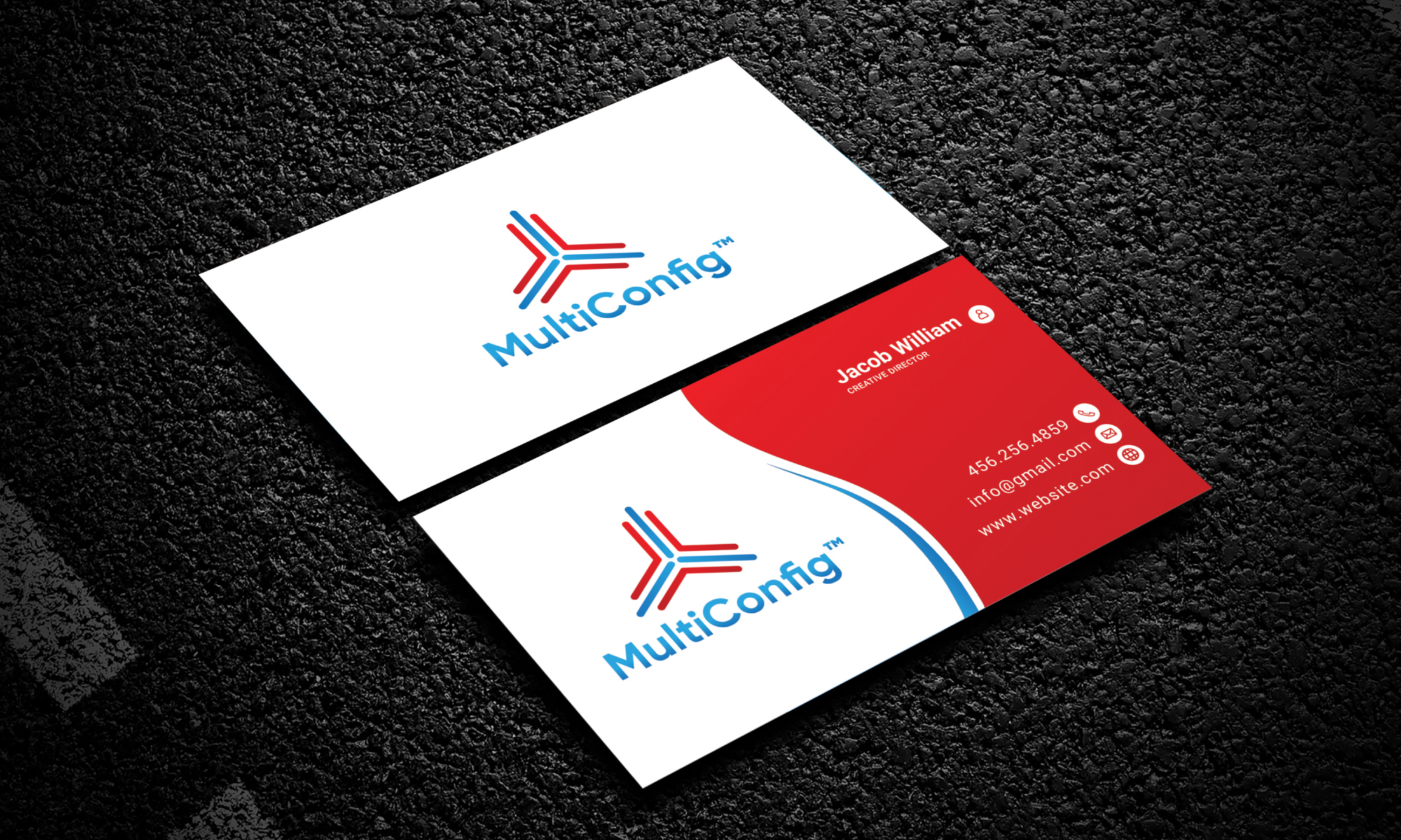 I will design modern,  elegant and professional business card
