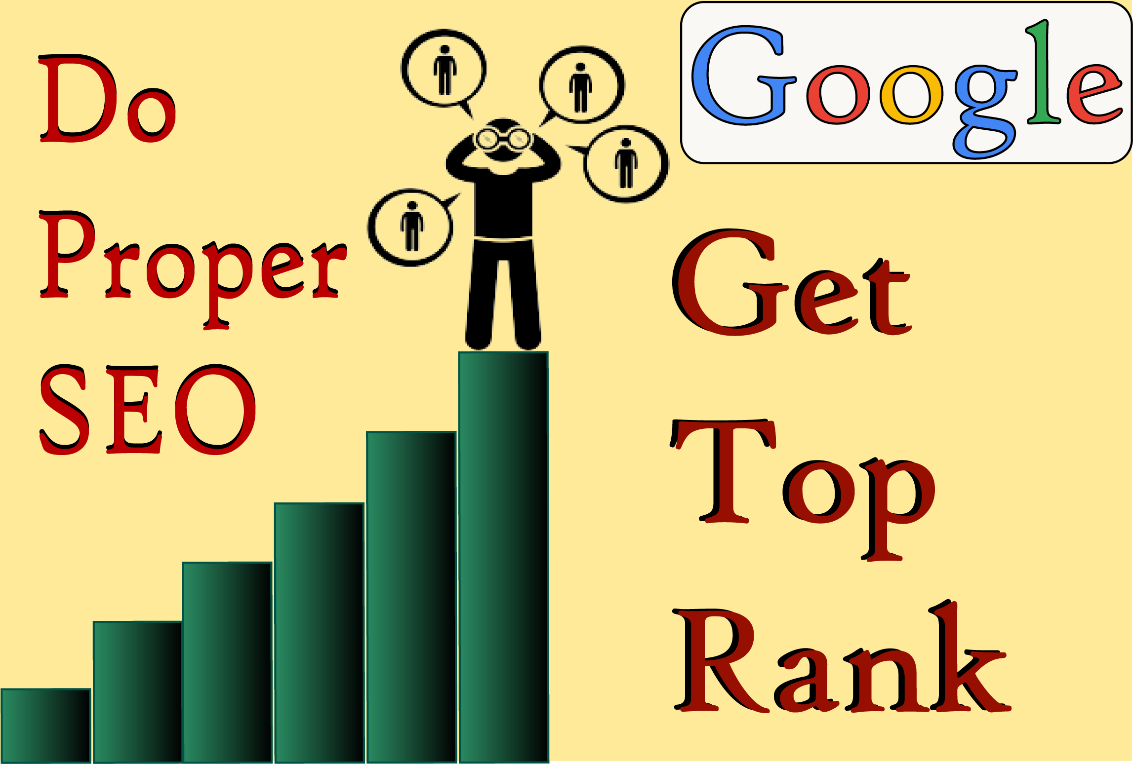 Offer Google Top Page Ranking Guaranteed Service