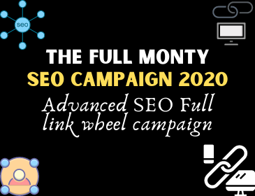Get The full Monty SEO campaign 2020 for ranking your website in Google