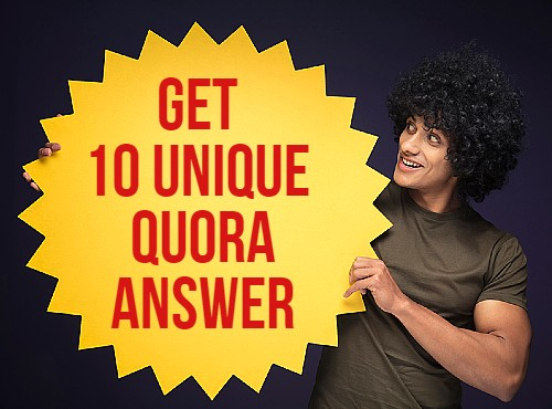 Promote your website by 10 Quora answers